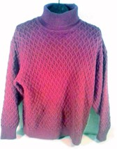 NORTHERN REFLECTIONS PARKHURST Womens Sweater Purple S/P - $18.95