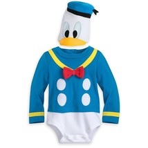 Disney Donald Duck Costume Bodysuit for Baby Size 18-24 MO Multi - €25,43 EUR