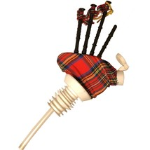 Bagpipes ALCOHOL POURER DISPENSER - $19.99