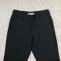 Ann Taylor Loft Women's Size 2 Dark Gray Boot Leg Dress Pants  image 3