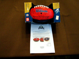 KEVIN GREEN HOF STEELERS PANTHERS RAMS SIGNED AUTO WILSON SB XXXVI FOOTB... - $217.79