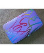 New NIB Manicure Set Lavender 4.5 x 2.5 Case + 6 Color Coordinated Nail ... - $12.40