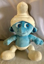 "BUILD A BEAR Smurf 16"" Plush Stuffed Animal Toy EUC - FAST SHIPPING! - $6.79"