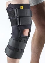 "Corflex 13"" Anterior Closure Knee Wrap w/R.O.M. Hinge 3/16"" 4X - $99.99"