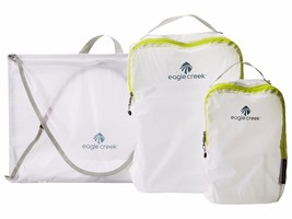 NEW EAGLE CREEK PACK-IT SPECTER PACKING SET WITH GARMENT FOLDER & 2 CUBE... - $1.223,20 MXN