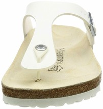 Brand New Authentic Birkenstock Gizeh BS White Women's Thong Sandals image 2