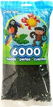 Black Perler Beads for Kids Crafts, 6000 pcs - $11.95