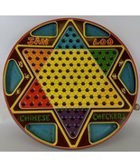 Vintage 1953 2-Sided Tin Lithographed Chinese Checkers by Northwestern P... - £21.34 GBP
