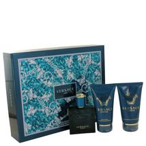 Versace Eros By Versace Gift Set -- 1.7 Oz Eau De Toilette Spray + 1.7 S... - $69.82