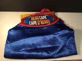 "NEW Dress Up Super Hero Cape Ages 3+ Halloween Childrens 27.6"" x 19.7 - $4.19"