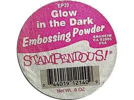 Stampendous Embossing Glow in the Dark Embossing Powder image 2