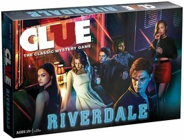 HASBRO Clue: Riverdale Board Game - USAopoly Hot Topic Exclusive (New, Sealed) - $42.06