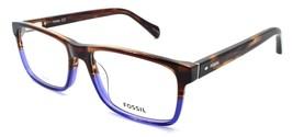 Fossil FOS 7084/G 09Q Men's Eyeglasses Frames 54-17-145 Brown / Blue - $65.14
