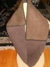Ugg Eternity Sheepskin Chocolate Scarf,style1350 - $161.90