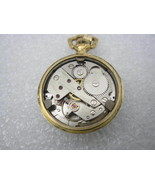 Colibri 17 Jewels Incabloc Hand Wind Analog Dial Pocket Watch (Made in F... - $98.95