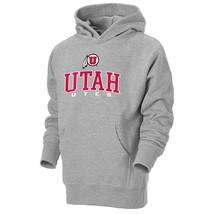 New Youth Unisex NCAA Utah Utes Go-To Hoodie Sweatshirt Gray, Small - $19.30