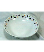 """Pampered Chef Dots Round Vegetable Bowl 10 3/4"""" - $16.37"""