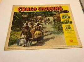 "Vintage 1956 Lobby Card ""Congo Crossing"" Virginia Mayo George Nader - $20.00"