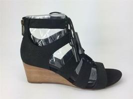 UGG Women's Yasmin Snake Gladiator Sandal Black Leather Lace Up Zipper Shoe - ₹2,781.07 INR
