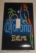 Corona Extra Beer neon Logo Light Switch Outlet Wall Cover Plate Home decor image 2