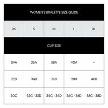 Calvin Klein Women's Modern Criss Cross Logo Black Cotton Racerback Bralette S image 5