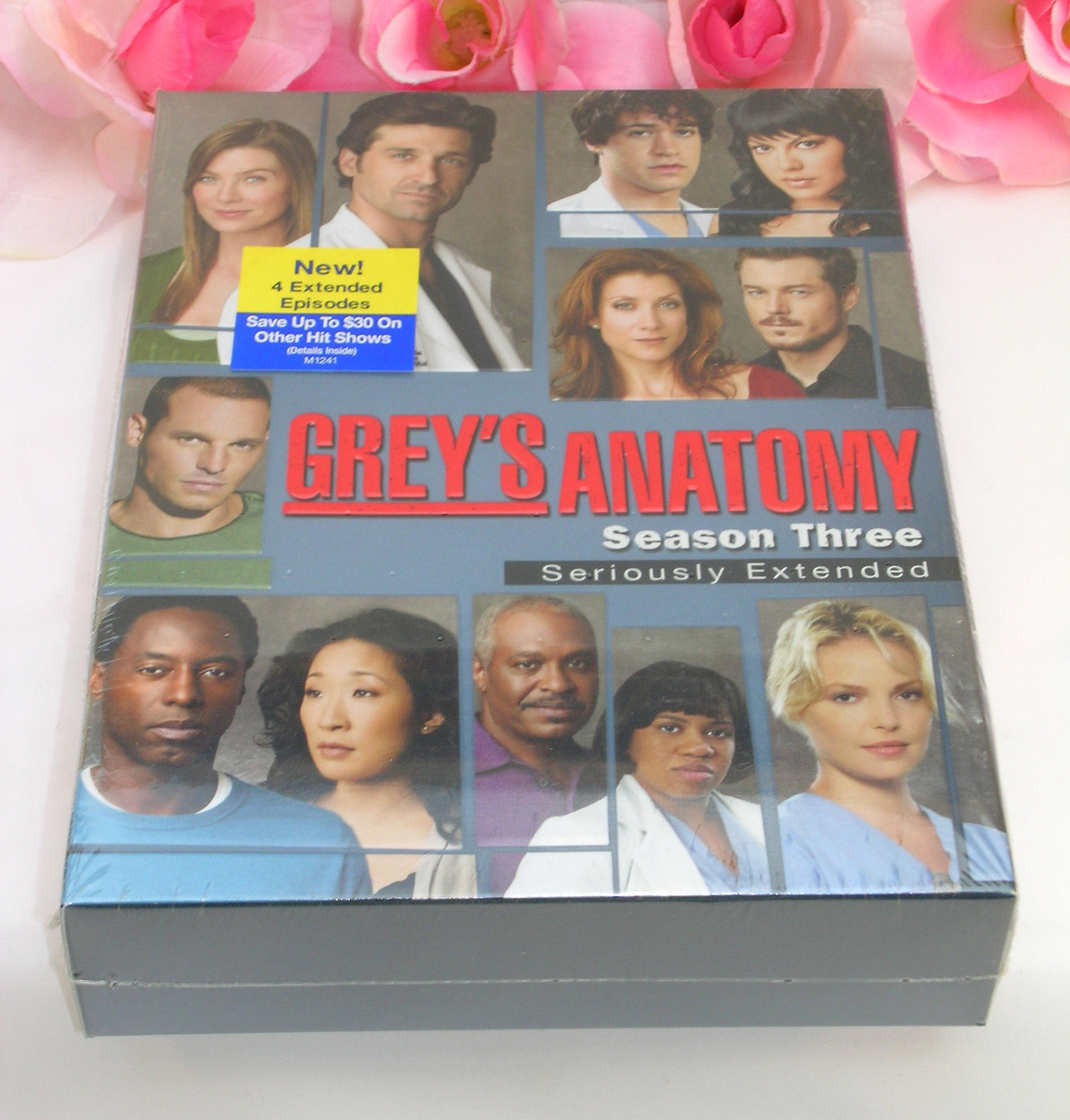 Primary image for New Sealed Set DVD's Greys Anatomy Complete Third Season TV Series Medical Drama