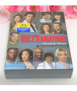 New Sealed Set DVD's Greys Anatomy Complete Third Season TV Series Medic... - $19.99