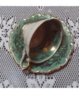 Vintage Lindner Kueps Bavaria Porcelain Tea Cup and Saucer German Porcelain - $11.00