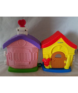 Fisher Price Little People Disney Plastic Mickey Mouse Minnie Mouse House - $9.99