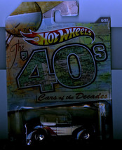 Hot Wheels 2011 Cars of the Decades #6 '40 Ford 40s - $5.88