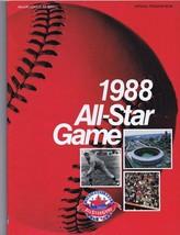 1988 MLB All Star Game Program Cincinnati Riverfront Stadium Terry Stein... - $18.49