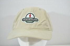 Rancho Manana Golf Club Tan Baseball Cap Adjustable Back - $17.99