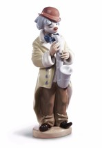 Lladro  clown  01005471  SAD SAX 5471 - $137.61