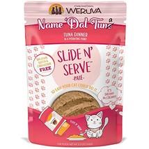 Weruva Slide N' Serve Paté Wet Cat Food, Name 'Dat Tuna Tuna Dinner, 5.5... - $25.69