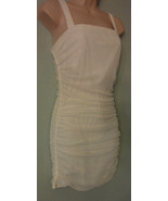 NWT Spiegel Signature Luxury Collection White Nylo Net Rushed Dress Sz M... - $21.32