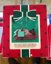"Hallmark Keepsake ""Do Not Disturb Bear"" Ornament 1985 e39 - $5.00"