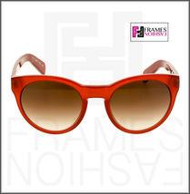 OLIVER PEOPLES ALIVIA OV5216S Red Blood Translucent Brown Round Sunglasses 5216 image 6