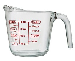 Anchor Hocking 55177OL11 Open Handle Measuring Cup, 16 oz, Clear - $18.18
