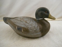 Vintage J.C. Higgins Life-Like Duck Decoy Sears-Roebuck And Co -Glass Eyes - $29.39