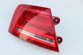 11-14 Audi A8 S8 Quarter Mounted Outer LED Taillight Combo Lamp Driver Left LH image 2