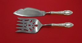 King Richard by Towle Sterling Silver Fish Serving Set 2 Piece Custom Made HHWS - $149.00