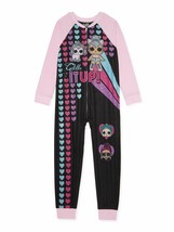 L.O.L Surprise! Girls Exclusive Blanket Sleeper, Size 6/6X (LOC TUB-85) - $16.82