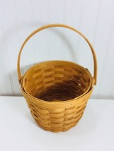 Vintage Longaberger Medium Fruit Basket 1999 24009 - $39.59