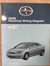 2009 Toyota SCION tC TC Electrical WIRING Diagram Manual OEM FACTORY 09 - $15.79