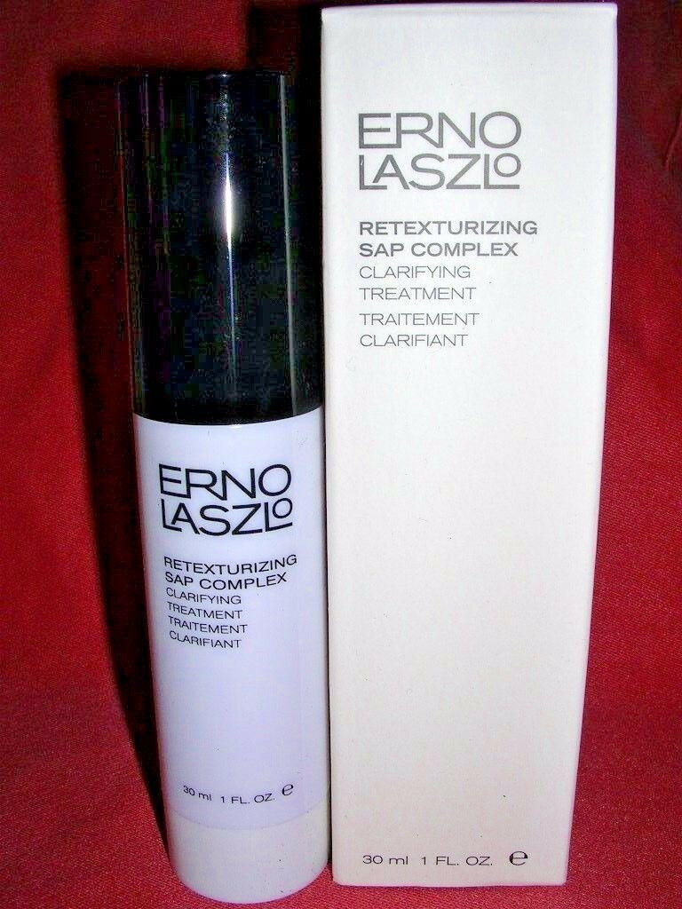 Erno Laszlo Retexturizing SAP Complex Clarifying Treatment 1 oz / 30 ml  NIB - $19.80