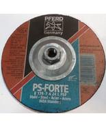 """PFERD 61004 7"""" X 1/4"""" Grinding Wheel PKG Of 6 Industrial Metalworking Tools - $37.05"""