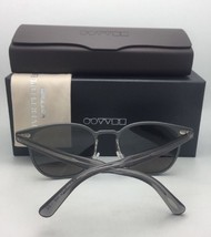Oliver Peoples Sunglasses Gwynne 1178-S 50634L Brushed Silver & Blue w/Blue Fade - $219.98