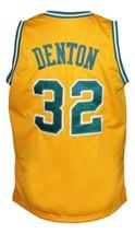 Memphis Tams Retro Aba 1974 Basketball Jersey New Sewn Yellow Any Size image 2