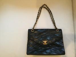Authentic CHANEL Black Lambskin Classic bag! - $2,850.00