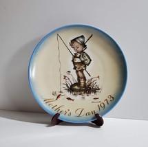 Hummel Collector Plate, Mother's Day 1973, Little Fisherman, Schmid, Dec... - $29.80